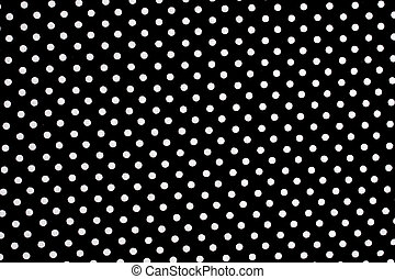 Black and white dots background - Black and white dots...