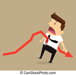 businessman arrow stab.vector
