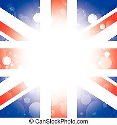 British background England flag