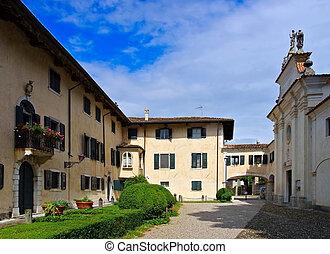 Strassoldo in Italy, Castello di Sotto