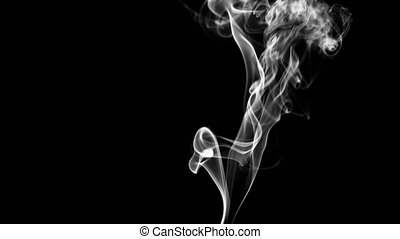 A Beautiful Smoke Wisp. - 4k A beautiful smoke wisp. These...