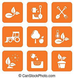 nine agriculture icons