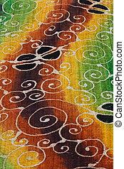 Colorful Batik - Unique pattern of the batik produce in...