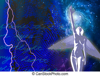 Spiritual Passion Abstract