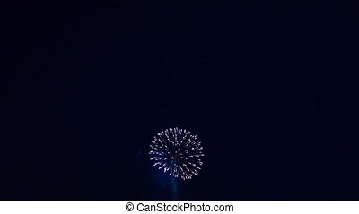 Firework. - Festive firework at the Victoria day.