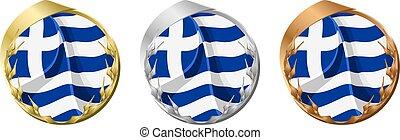 Medals Greece