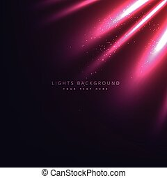 light rays background