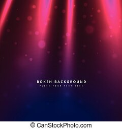light rays bokeh background