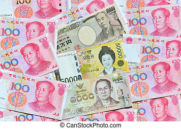 South Korean Won, Japanese yen, and Chinese RMB - South...
