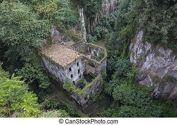 Vallone dei Mulini in Sorrento, Italy