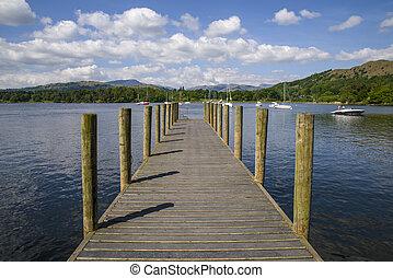 Lake Windermere Jetty - A jetty on the beautiful Lake...