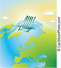 global warming, sunshine
