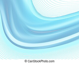 abstract background, vector - Vector wavy and curve line...