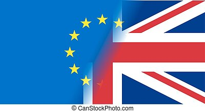 vector Great Britain referendum on secession from the...