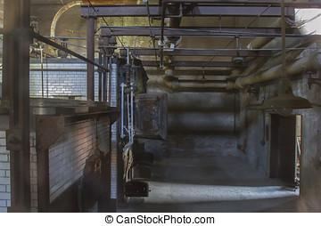 Crematorium in Ellis Island hospital - Crematorium in...