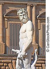 Poseidon, estatua