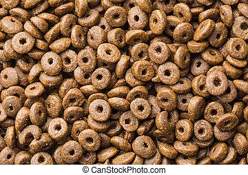 Dry kibble dog food - Dry kibble dog food background