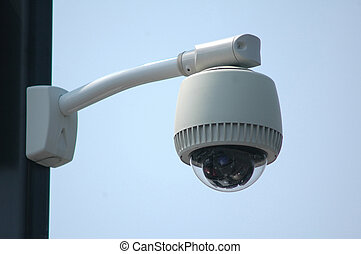 Outdoor video security surveillance cctv camera - Overhead...