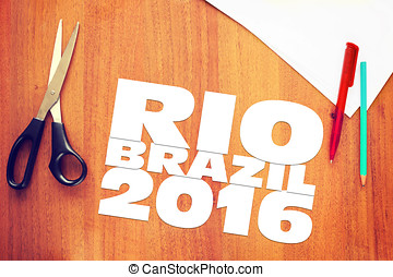 Paper scraps about Olympic Games in Brazil 2016 Abstract...