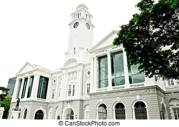 Victoria Memorial Hall Singapore - Town Hall and Victoria...