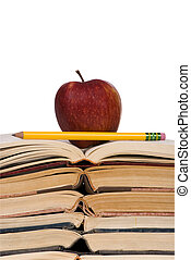 Educational Concepts (open books w/apple)