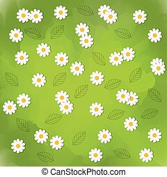 Flowers background design Floral and Garden icon vector...