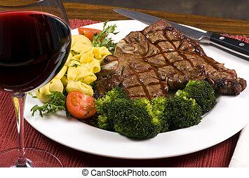 Porterhouse Steak 001 - A mouth watering porterhouse steak...