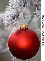 Red Ornament 3