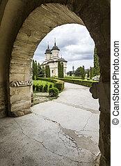 Cetatuia Monastery in Iasi, Romania - Cetatuia monastery is...