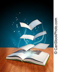 mágico, livro