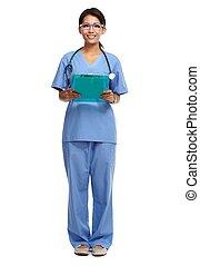Kvinde, kinesisk, doktor