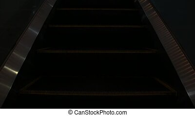 Escalator running up and down - Bangkok, Thailand - April...