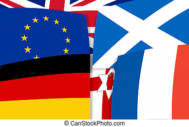 Europe north irland germany scotland france United Kingdom