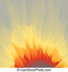 Burst, Fire and Explosion. Abstract background. Modern...