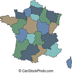 regiones, francia