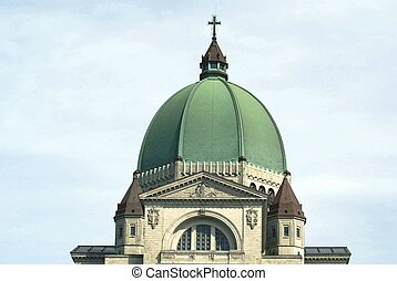 Saint Joseph Oratory detail, Canada - Closeup to a minor...