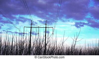 Taymlaps sky and power lines taymlaps - Taymlaps sky and...