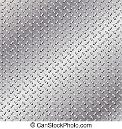 Metal Background - A Metal Background with Tread Plate...