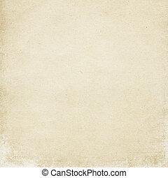 Old light cardboard surface, useful as background element in designworks.
