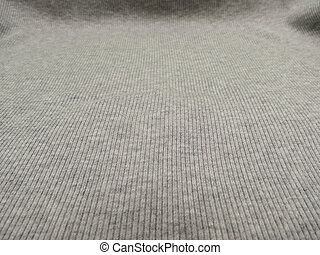 Grey ribbed cotton background - Grey ribbed cotton useful as...