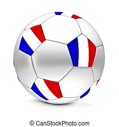 Soccer BallFootball France - shiny footballsoccer ball with...