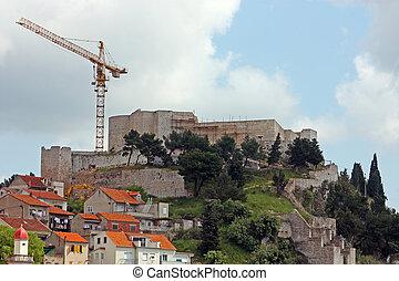 St Michael fortress, Sibenik - St Michael fortress Fortress...