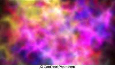 nebula color clouds