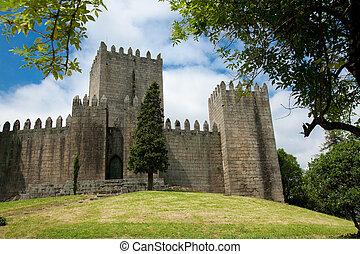 Castle of Guimaraes, Portugal