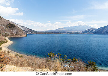 Lake and fujisan