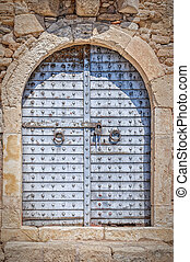 Sitia Fort Main Door - The old fort at the sea port town of...