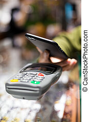 Mobile payment by NFC