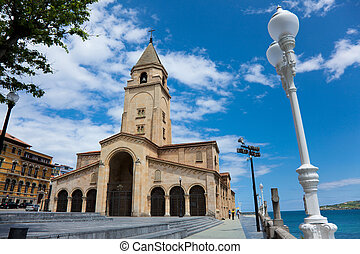 Church of Santa Catalina, Gijon, Asturias, Spain