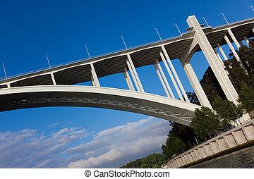 Bridge of Vila Nova de Gaia, Portugal
