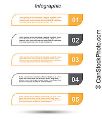 Infographic design template - Modern Design Template / can...